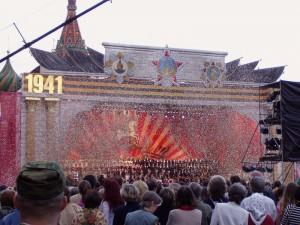 Красная площадь, май 2005