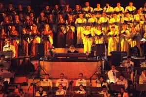 Открытие Катарского амфитеатра. С композитором Вангелисом. 2011