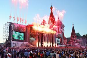 </br>Праздничный концерт, посвященный Дню России